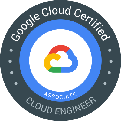 Got a GCP associate cert as well